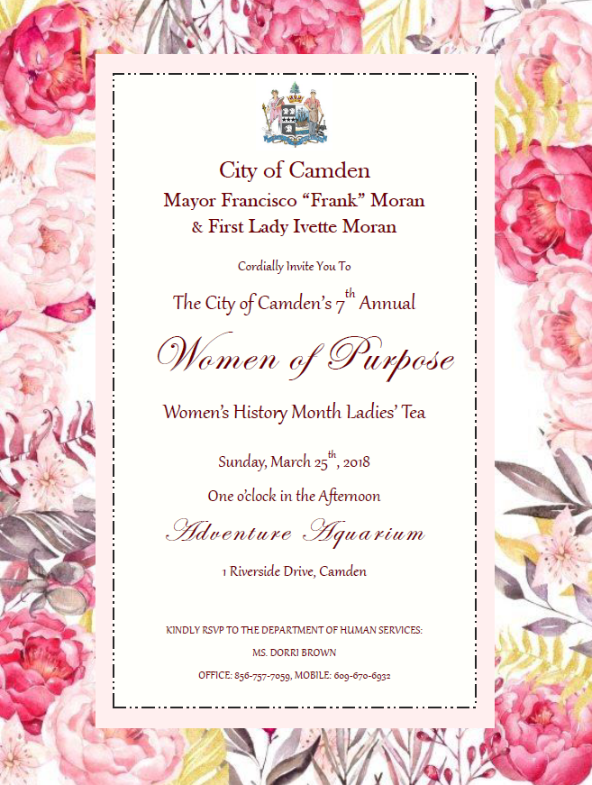 Join Mayor Frank Moran & First Lady Ivette Moran for The ...